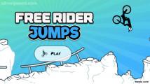 Free Rider Jumps: Menu