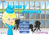 Frenzy Flughafen: Menu