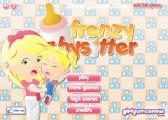 Frenzy Babysitter: Menu