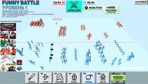 Funny Battle Simulator: Gameplay Fighting