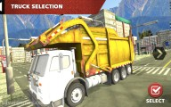 Garbage Truck Simulator: Truck Selection