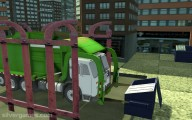 Garbage Truck Simulator: Transporting Garbage Truck