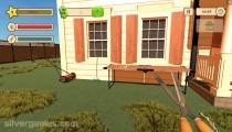 Gartenpflege Simulator : Gameplay Cutting Garden