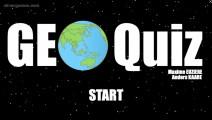 Geo Quiz: Menu
