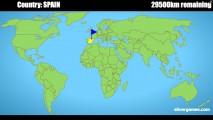 Geo Quiz: World Map Gameplay
