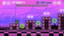 Geometry Dash Neon Subzero: Gameplay Reaction Cube
