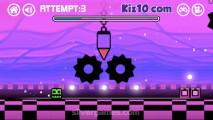 Geometry Dash Neon Subzero: Gameplay Reaction Square