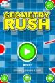 Geometry Rush: Menu