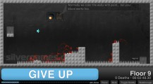 Give Up: Gameplay Jumping Escape