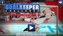 Goalkeeper Challenge: Menu
