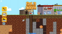 Gold Digger FRVR: Menu