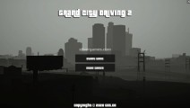 Grand City Driving: Menu
