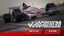 Grand Prix Hero: Menu