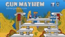 Gun Mayhem: Menu