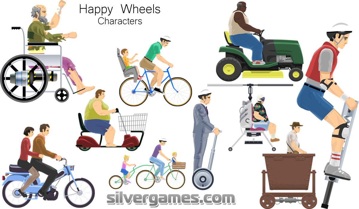 Happy Wheels Jeux Gratuits En Ligne Sur Silvergames Com