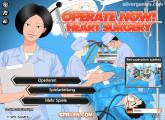 Herzoperation: Menu