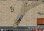 Schwerer Abschleppwagen: Truck Trailer Driving