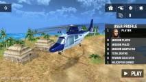 Helicopter Rescue Simulator 3D: Menu
