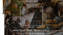 Heroes Battle: Menu