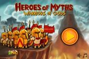 Heroes Of Myths: Menu