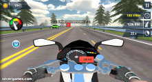 Carreras De Motos En La Autopista: Gameplay