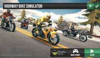 Highway Motorcycle Simulator: Menu