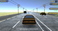 Highway Racing: Gameplay Racing Distance