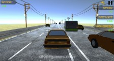 Highway Racing: Avoiding Traffic Accident