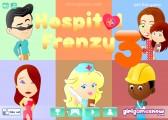 Hospital Frenzy 3: Menu