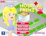 Hospital Frenzy 2: Menu