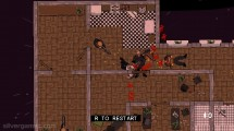 HOTLINE MIAMI VICE: Gameplay Shooting Killing