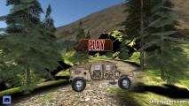 Humvee Offroad Simulator: Menu