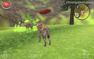 Hyena Simulator 3D: Screenshot