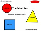 Idiot Test: Gameplay