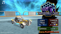 Impossible Cars Punk Stunt: Menu