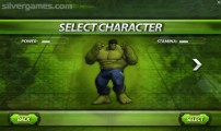 Incredible Monster: Menu Character Selection