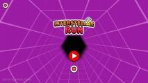 Interstellar Run: Menu