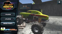 Island Monster Offroad: Menu