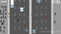 Jaywalking: Gameplay Traffic Cross Street