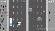 Невнимательный Пешеход: Gameplay Street Crossing