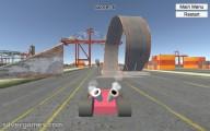 kart simulator stunt track challenge
