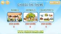 Kids Hangman: Theme Selection Kids Game