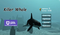 Killer Whale Simulator: A Menu