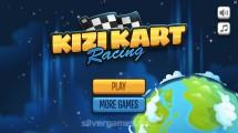 Kizi Kart Racing: Menu