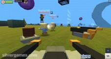 Kogama Wipeout: Gameplay Building Shooting