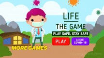 Life: The Game Stay Safe: Menu