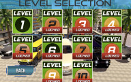 Limo Taxi Driver: Level Selection.