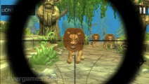 Lion Hunter: Gameplay Shooting Lions