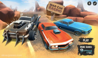 Mad Car Racing: Menu