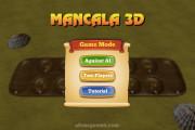 Mancala Online: Menu